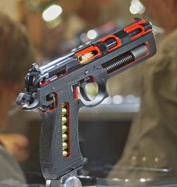 FK Brno PSD: the powerful multicaliber pistol | GUNSweek com