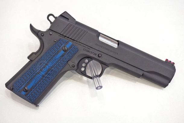 Colt Competition Pistol: a 1911 variant ready for the fray at the shooting range