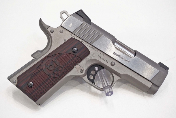 The recently updated Colt Defender: a concealed carry pistol for civilian self-defense