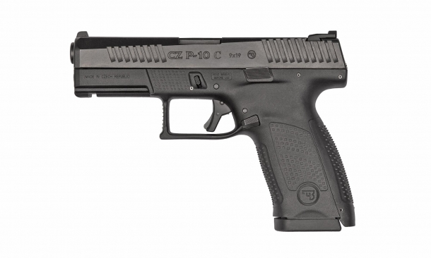 CZ P10C pistol, black finish