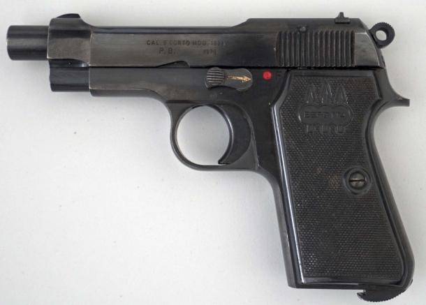 La Beretta 34 della Guardia di Finanza come distribuita da Brownells