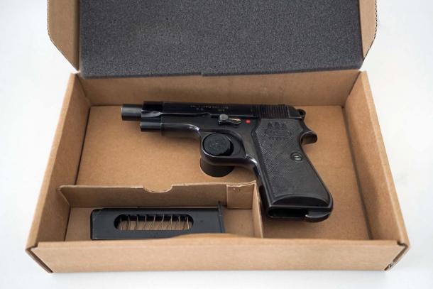 Brownells Italia ha disponibilità di un ricercatissimo lotto di Beretta 34 prodotte per la Guardia di Finanza alla fine degli anni '70
