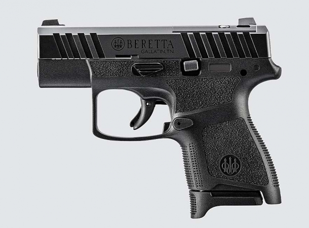 Beretta APX A1 Carry 9mm subcompact pistol – left side