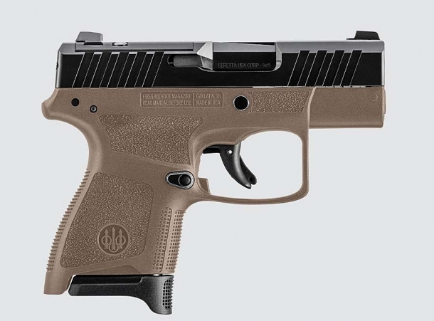 Beretta APX A1 Carry 9mm subcompact pistol – right side