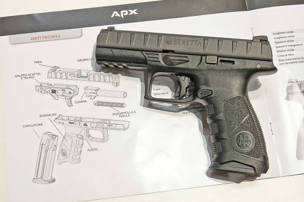 The new Beretta APX marks an important step in Beretta's history