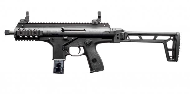 Pistola Beretta PMXs, lato sinistro