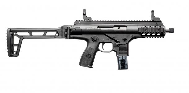 Pistola Beretta PMXs, lato destro