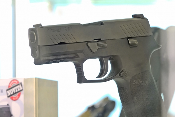Bignami distribuirà la P320 nei calibri 9x21, .40 Smith & Wesson e .45 ACP