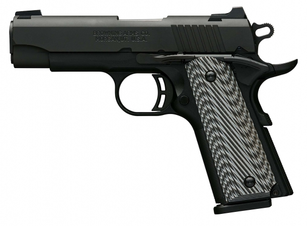 The Browning Black Label 1911-380 Pro Compact pistol