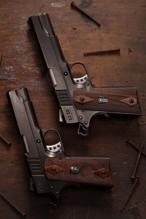 The Cabot Guns S100 and S103 Vintage Classic pistols