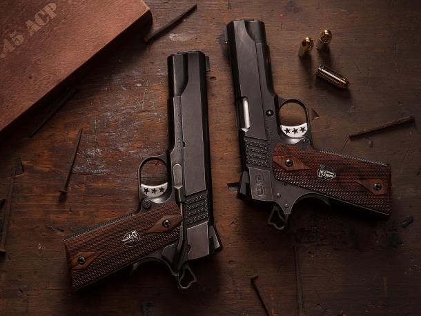 Le pistole della Cabot Guns sono il mix di alta tecnologia e lavoro artigianale