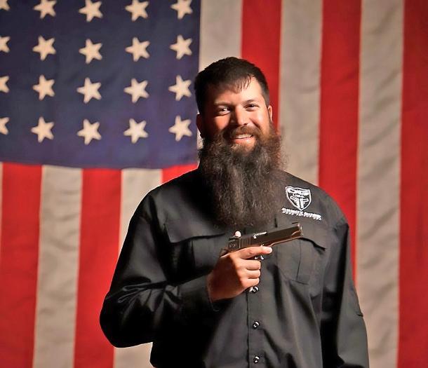 Jonathan Shue, of the Team Cabot Guns