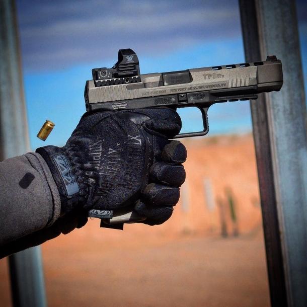 Tra le pistole Canik in arrivo in Italia c'è anche la nuovissima TP9 SFx per il tiro competitivo