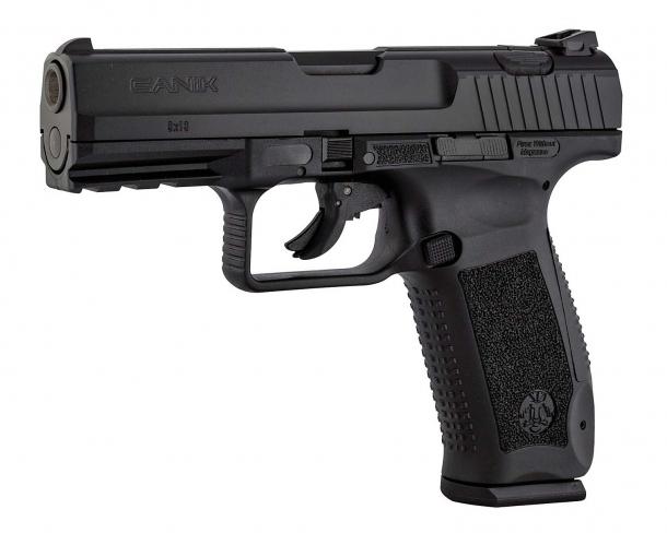 La TP9 V2 della Canik: ottima per la difesa personale, il tiro in poligono e per l'uso in servizio da parte delle Guardie Particolari Giurate