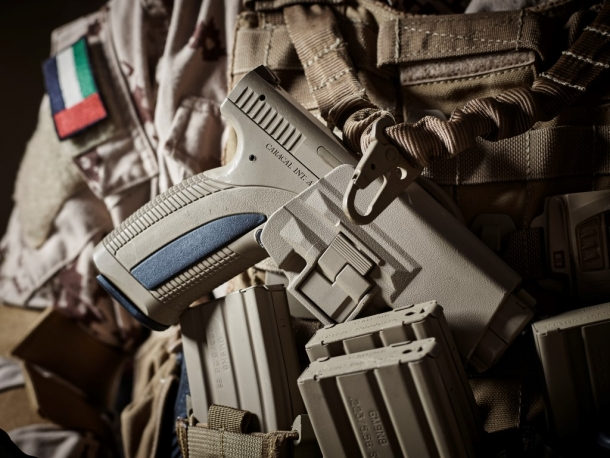 Upgraded versions of the Caracal F pistol will be sent prioritarily to those customers affected by the product recall in 2013