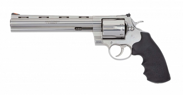 New Colt Anaconda revolver, left side