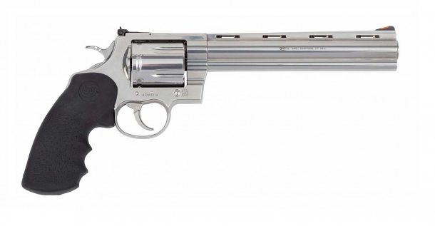 New Colt Anaconda revolver, right side