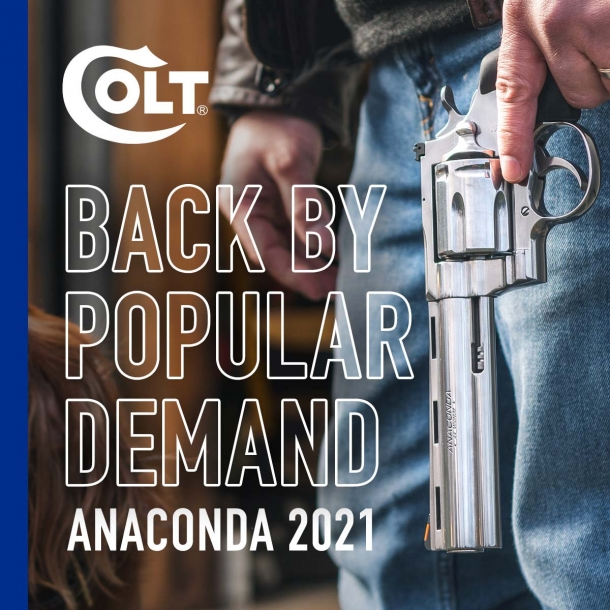Colt Anaconda revolver: back by popular demand