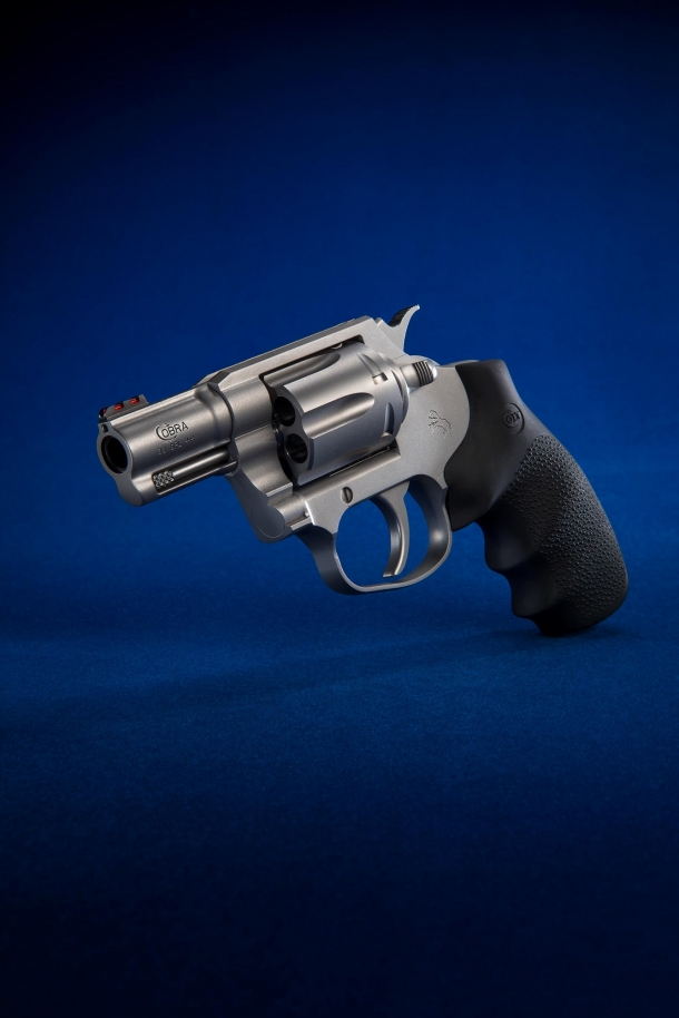 The new Cobra marks Colt's trimphant return into the double-action revolvers market