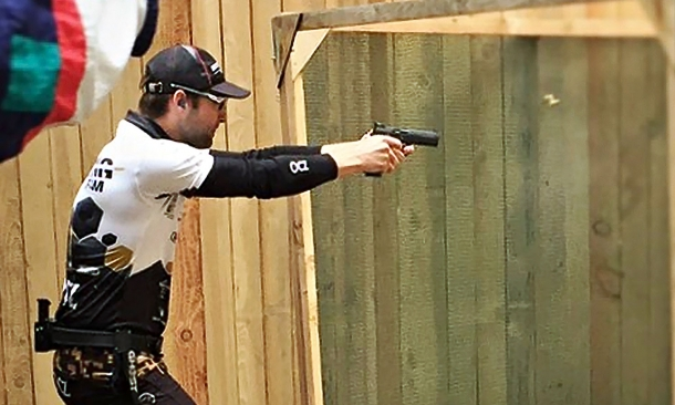 Robin Šebo, from the CZ Shooting Team, has placed a full 100% in the Production Division, winning the Gold with his CZ Shadow 2 pistol