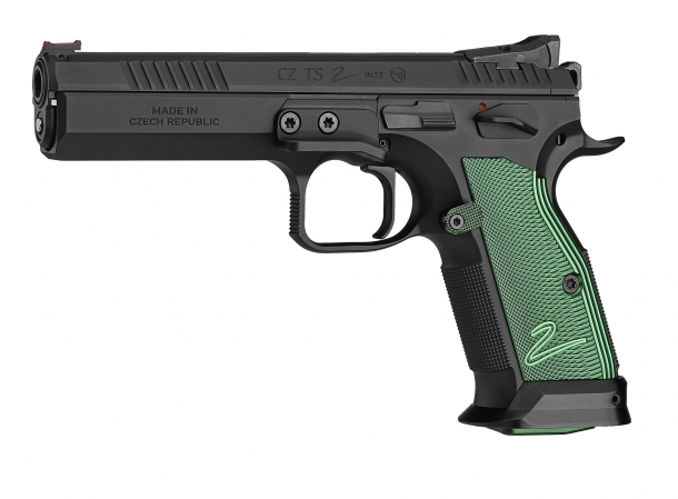 CZ TS2 Racing Green