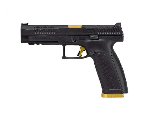Pistola semi-automatica CZ P-10F Competition-Ready calibro 9x19mm – lato sinistro