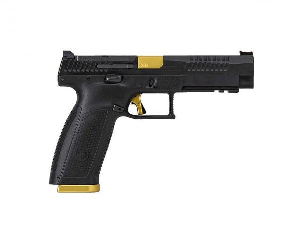 Pistola semi-automatica CZ P-10F Competition-Ready calibro 9x19mm – lato destro