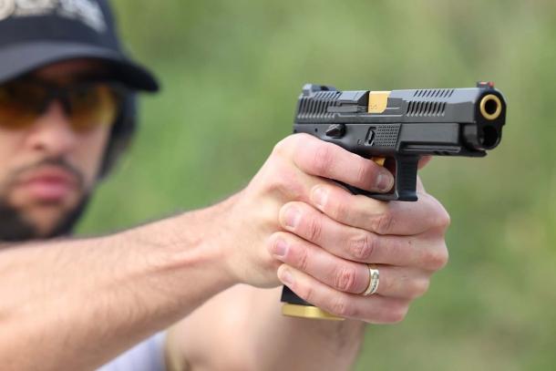 CZ P-10F Competition-Ready: la nuova pistola striker-fired da tiro dinamico