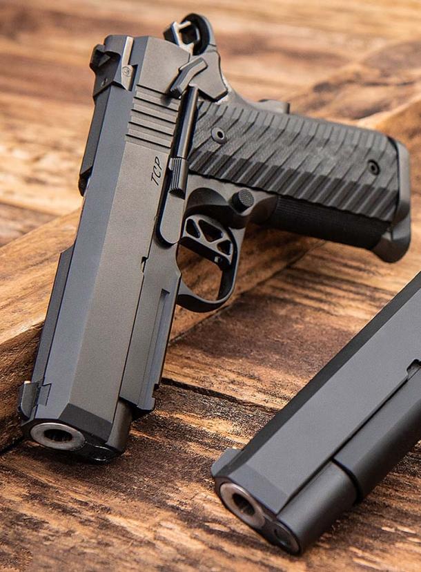 Dan Wesson TCP Tactical Compact Pistol | GUNSweek com
