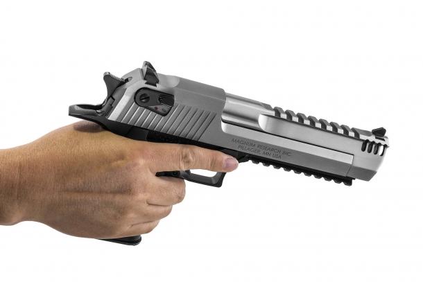 Il calibro 429 Desert Eagle è stato sviluppato specificamente per la pistola Desert Eagle