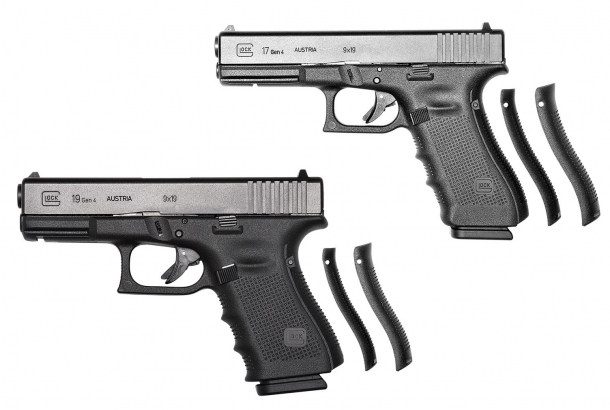 The selected pistols seem to be the Gen.4 Glock 17 and Glock 19