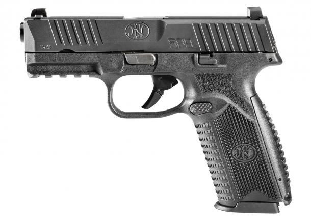 Il lato sinistro della FN 509