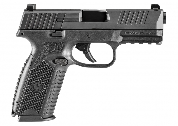 The right side of the FN 509 pistol