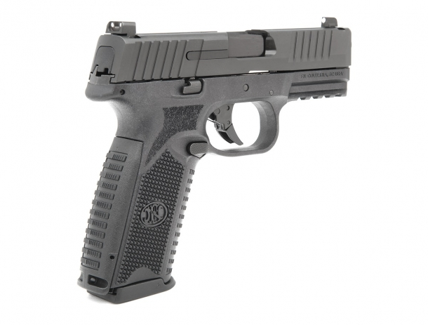 Both the mag release and the slide stop on the FN 509 are ambidextrous
