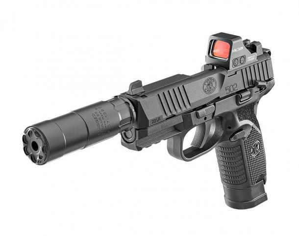 FN 502: FN America's first .22 Long Rifle pistol!