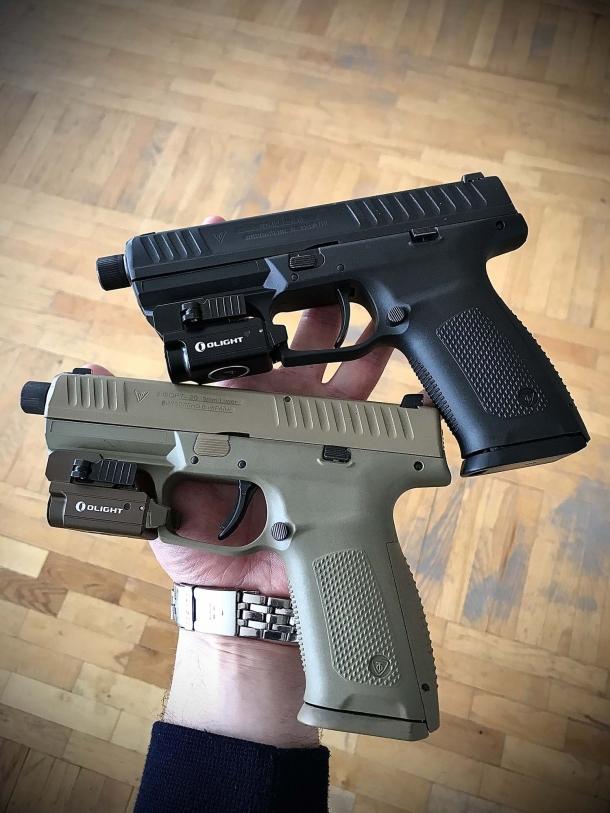 FORT-20 striker-fired pistol, from Ukraine