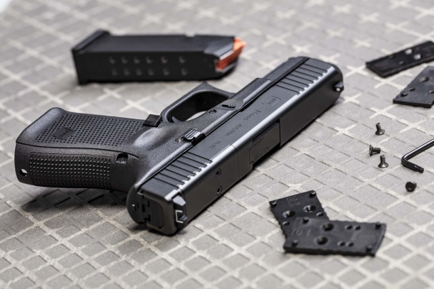 Glock announces the new G45, G17 and G19 Gen5 MOS pistols | GUNSweek com