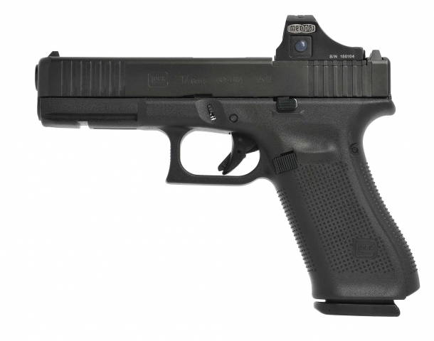 The Glock 17 Gen5 MOS