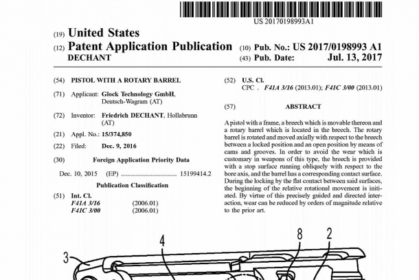 The well-known Austrian company filed at least two patents for the new Glock 46