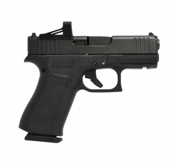 Glock 43X MOS pistol, right side