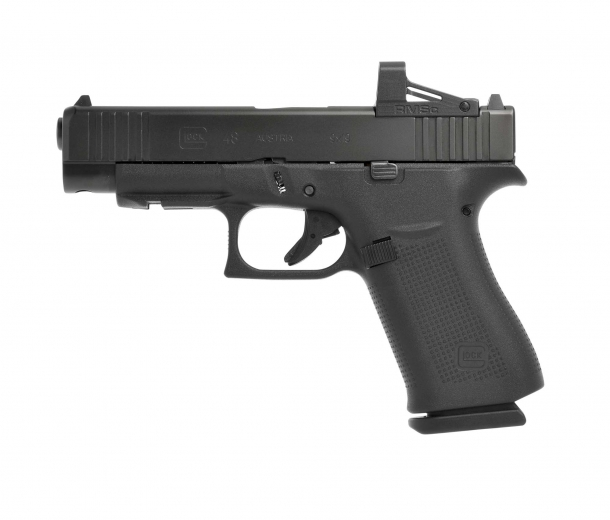 Glock 48 MOS pistol, left side