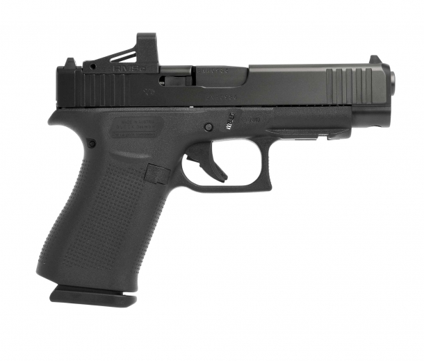 Glock 48 MOS pistol, right side