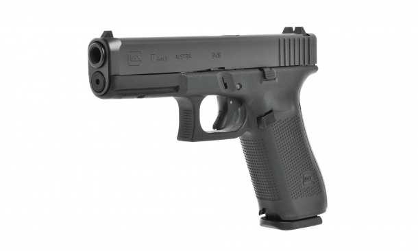Glock 17 Gen5 pistol: at least five major changes have been made to the Glock layout in the passage from Gen4 to Gen5