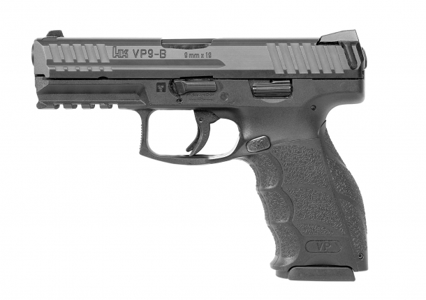 The VP9-B is the latest entry in Heckler & Koch's top-selling line of striker-fired pistols