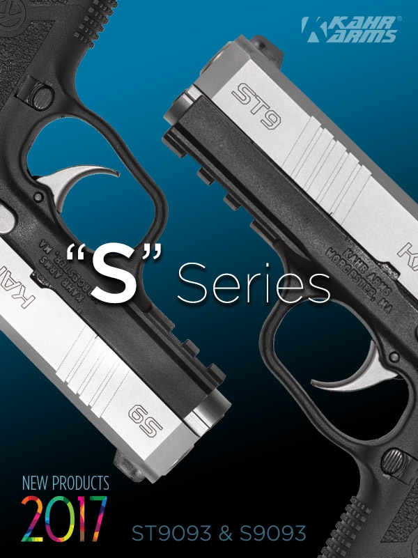 The ST9 and S9 are Kahr's latest models dedicated to concealed carry, personal defense, home and property protection