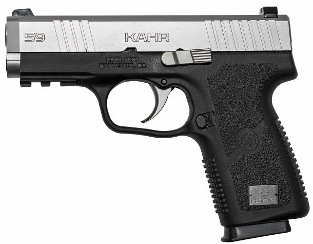 Left side of the new Kahr S9 pistol