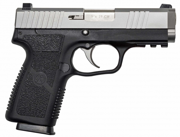 Right side of the new Kahr S9 pistol