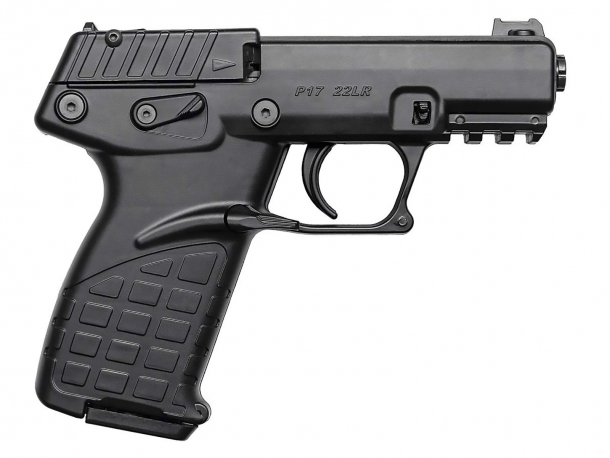 Kel-Tec P17: a new .22 Long Rifle semi-automatic pistol on the block!