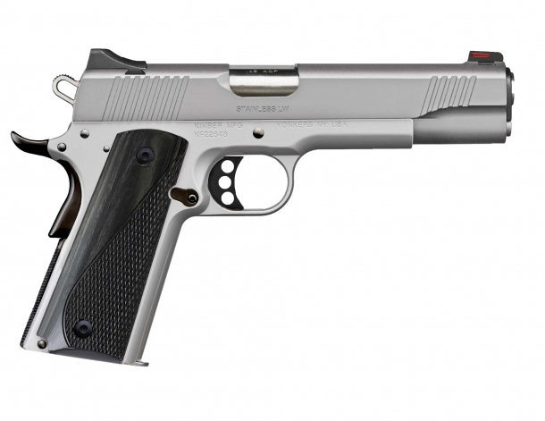 Pistola Kimber Arctic LW calibro .45 ACP, lato destro