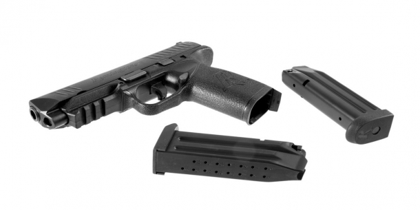 The RP9 is Remington's new polymer-frame, striker-fired pistol dedicated to sport shooting, personal and property protection, and service